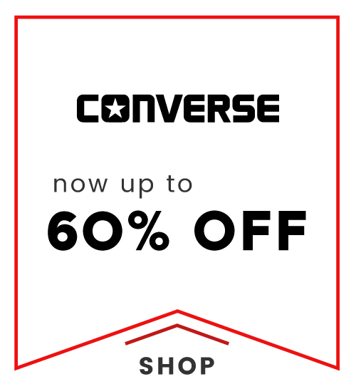 Cloggs: now up to 60% off converse shoes
