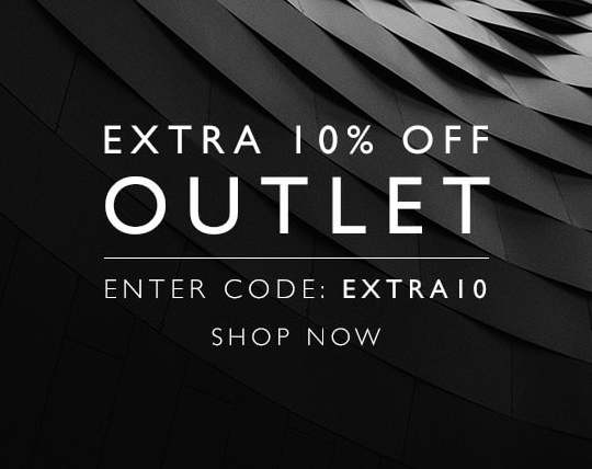 Coggles: 10% off clothing, footwear, homewear, beauty and accessories from outlet