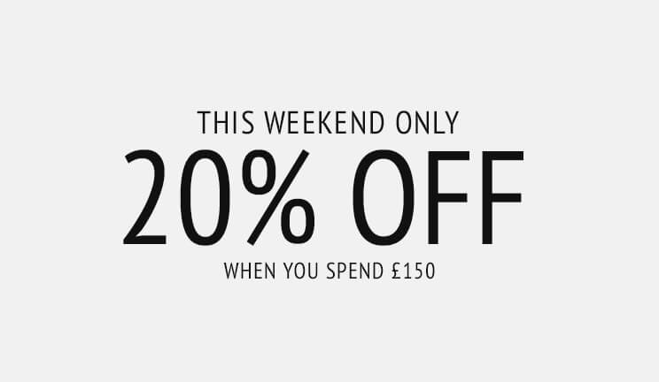 Coggles: Bank Holiday Promotion 20% off designer fashion for men and women