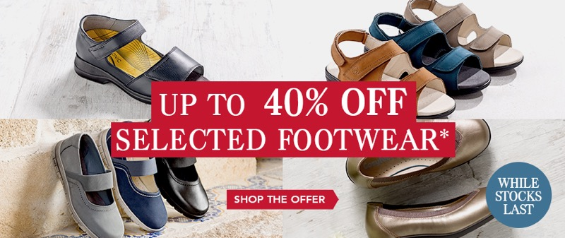Cosyfeet: up to 40% off selected footwear