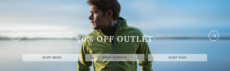 Craghoppers: Sale 50% off womens, mens and kids clothing