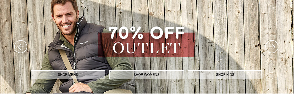 Craghoppers: Sale up to 70% off outlet items