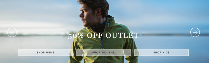 Craghoppers: 50% off outlet