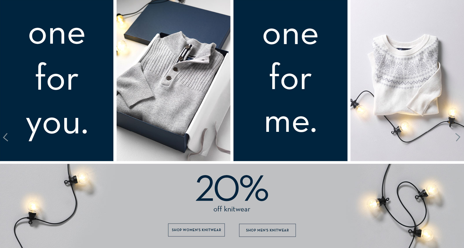 Crew Clothing: 20% off women's and men's outerwear