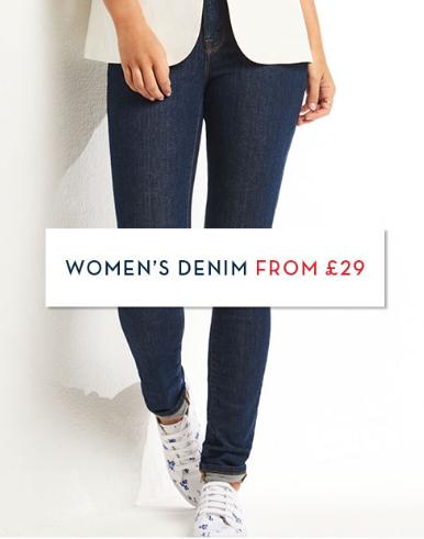 Crew Clothing Crew Clothing: women's denim from £29