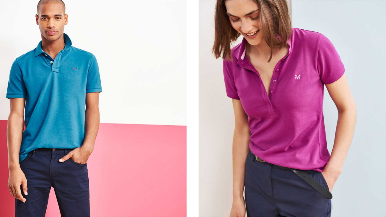 Crew Clothing Crew Clothing: 3 polos for 2