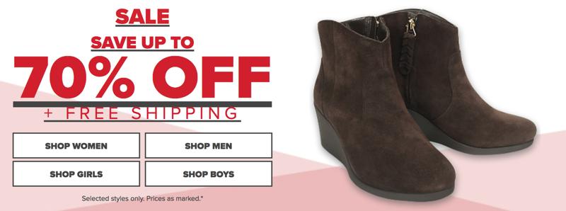 Crocs Crocs: Sale up to 70% off shoes, sandals and clogs