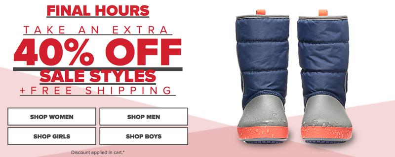 a47acda630a9 Crocs  Sale 40% off shoes