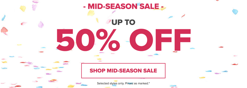 Crocs: Mid-Season Sale up to 50% off shoes, sandals and clogs
