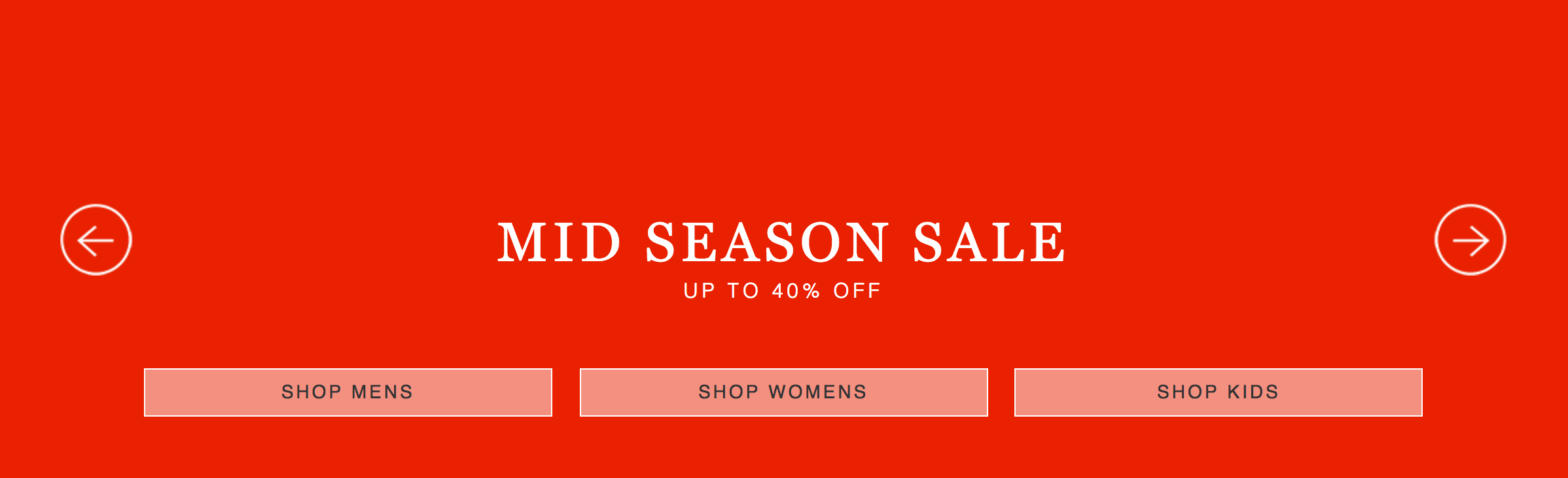 Craghoppers: Mid Season Sale up to 40% off women's, men's and kids' outdoor clothing
