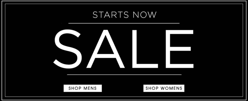 Cruise: Sale 50% off clothing and accessories