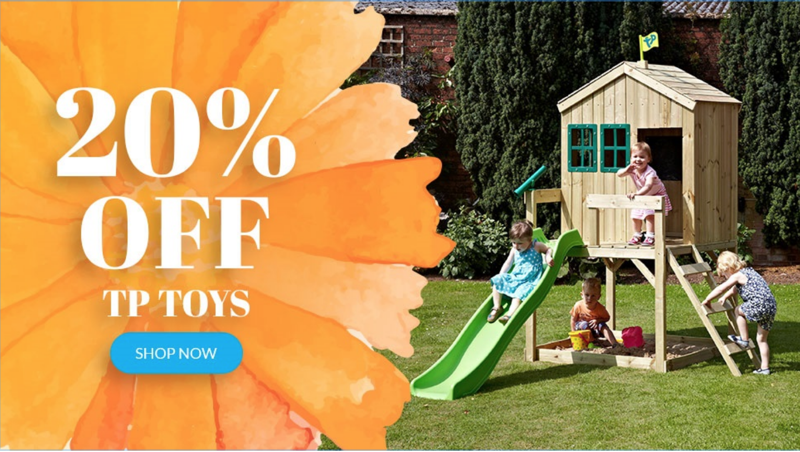 Cuckooland: 20% off outdoor toys and play equipment