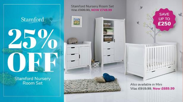 Cuckooland: 25% off Stamford Nursery Room Set