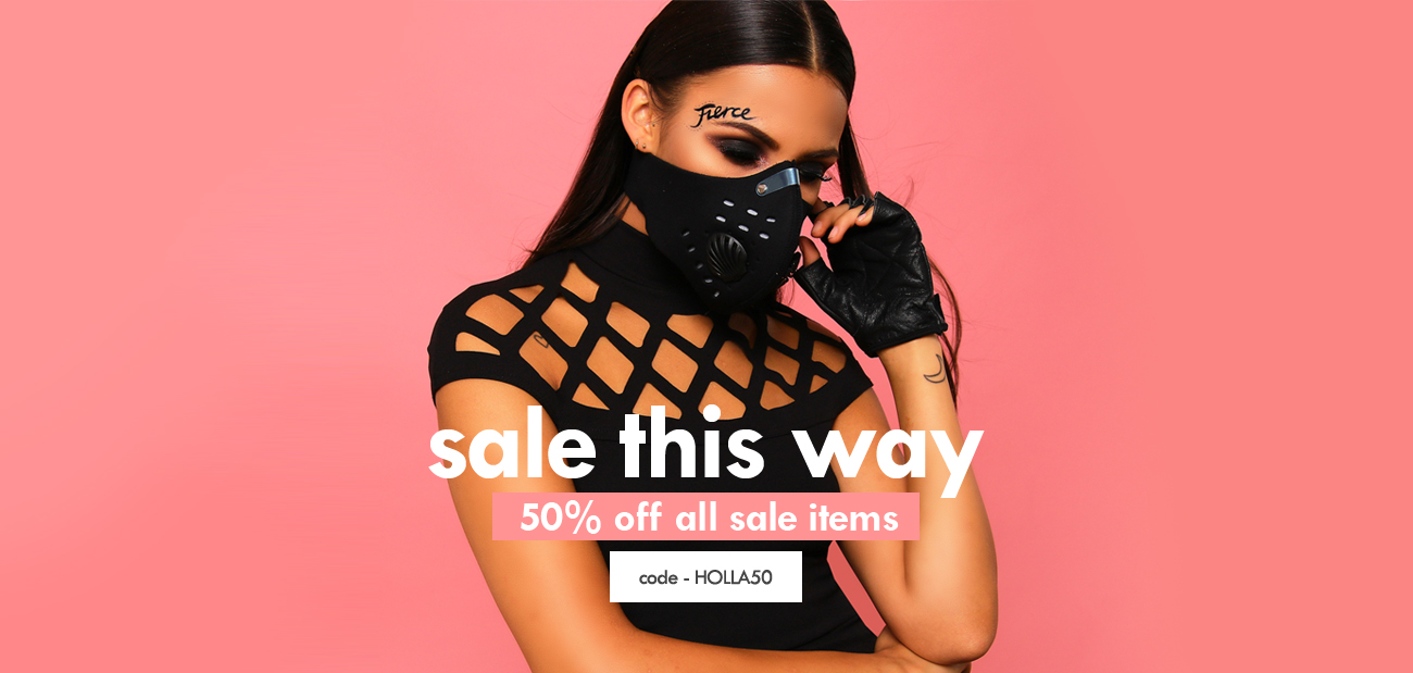 Lasula: Sale 50% off clothing and accessories