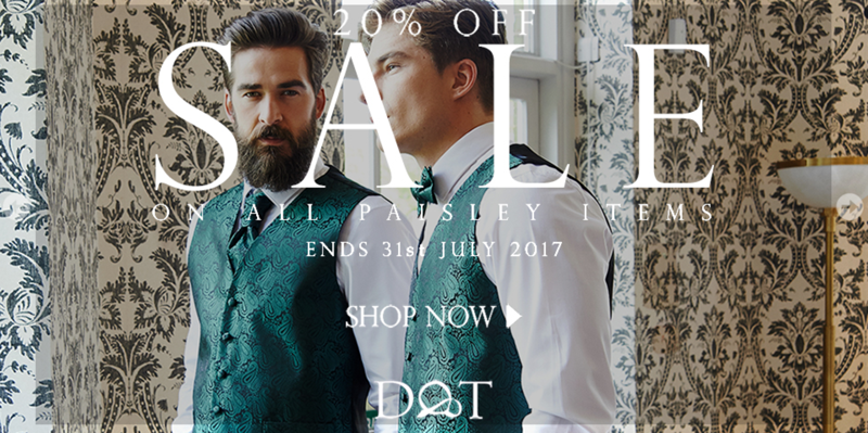 DQT: Sale 20% off on all paisley items