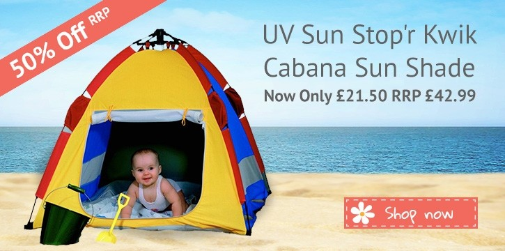 Daisy Baby Shop: 50% off Cabana Sun Shade