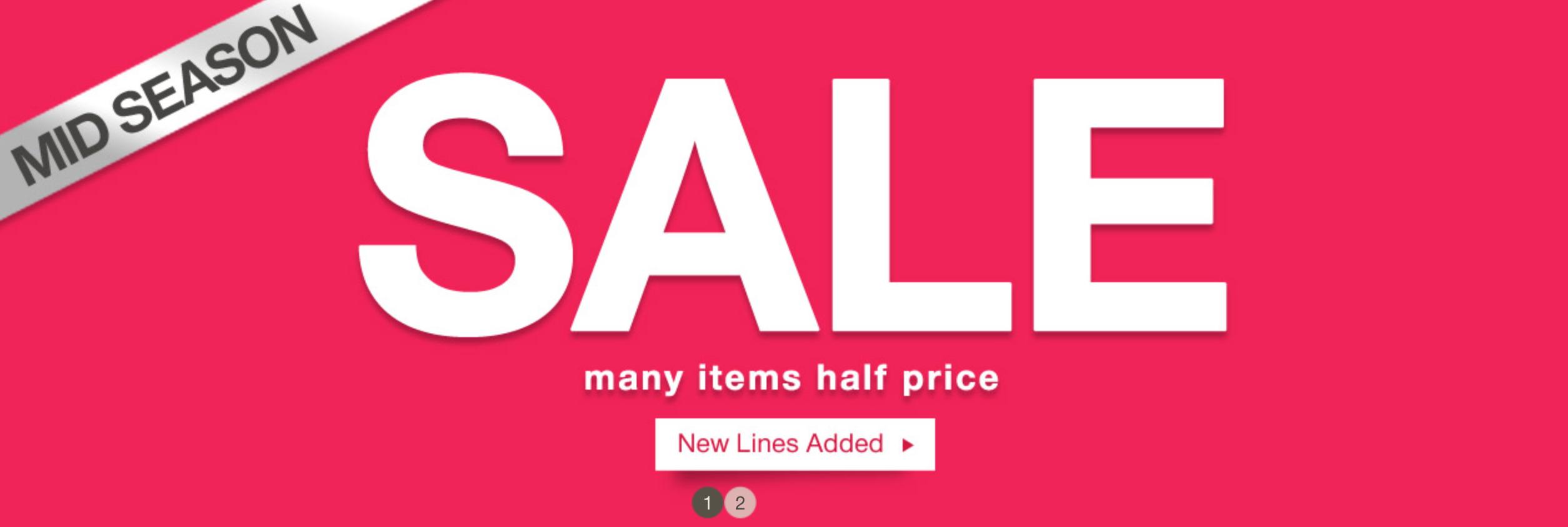 Damart: Mid Season Sale up to 60% off