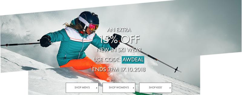 Dare2b Dare2b: an extra 15% off new in ski wear