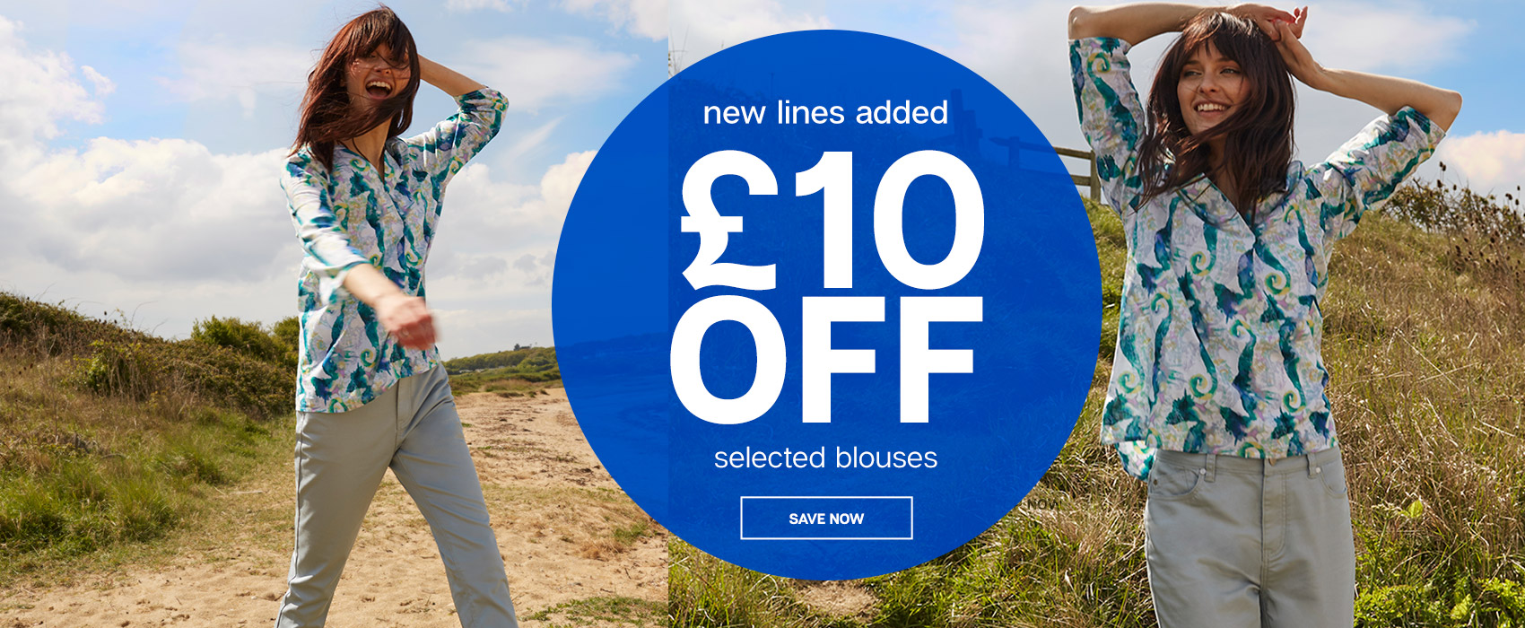 Dashfashion: £10 off selected blouses