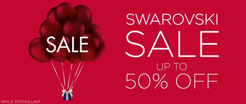 David Shuttle David Shuttle: Sale up to 50% off Swarovski jewellery