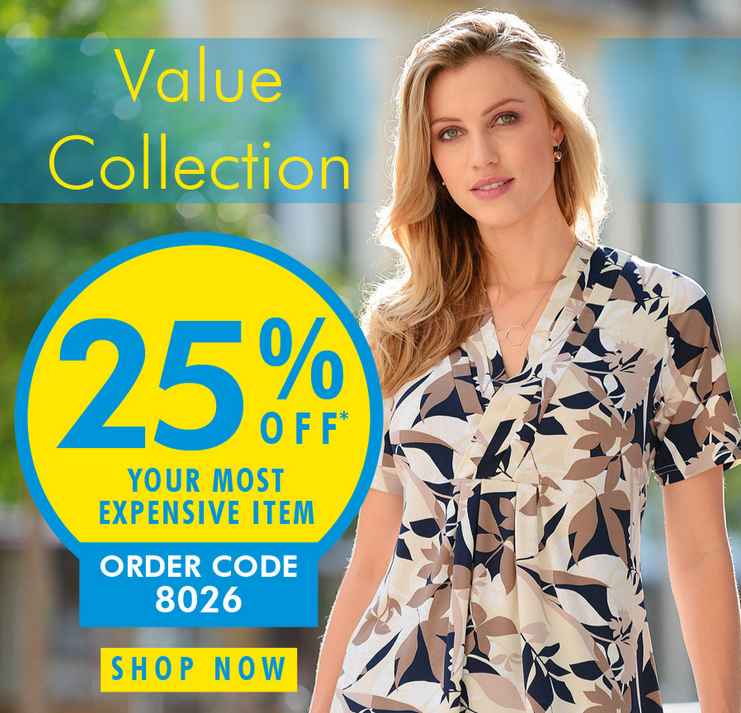 Daxon: 25% off your most expensive item from new collection