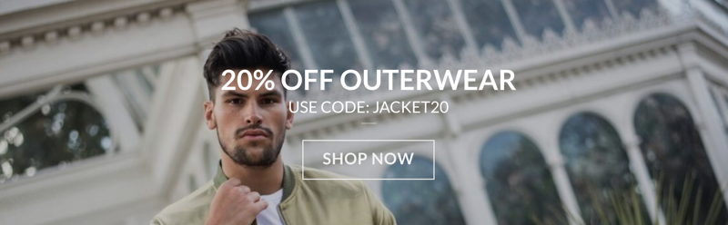 Dead Legacy: 20% off outerwear
