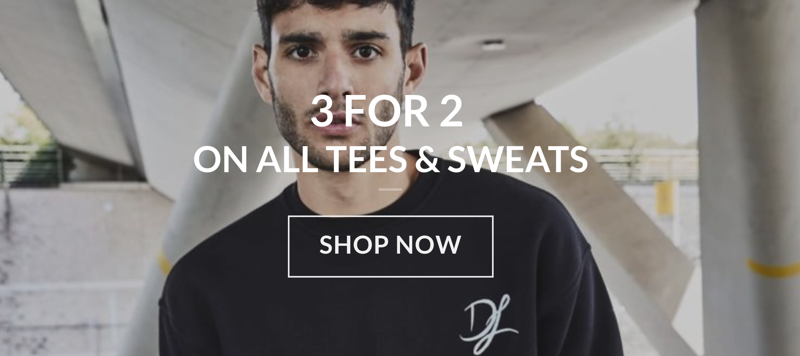 Dead Legacy: 3 for 2 on all tees & sweats