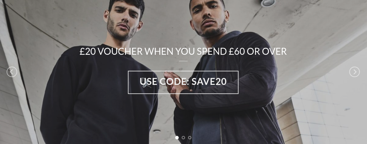 Dead Legacy: you will get £20 voucher when you spend £60 or over