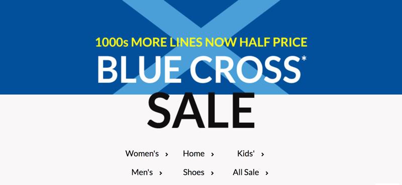 Debenhams: Sale up to 70% off women's, men's, kids', home and shoes