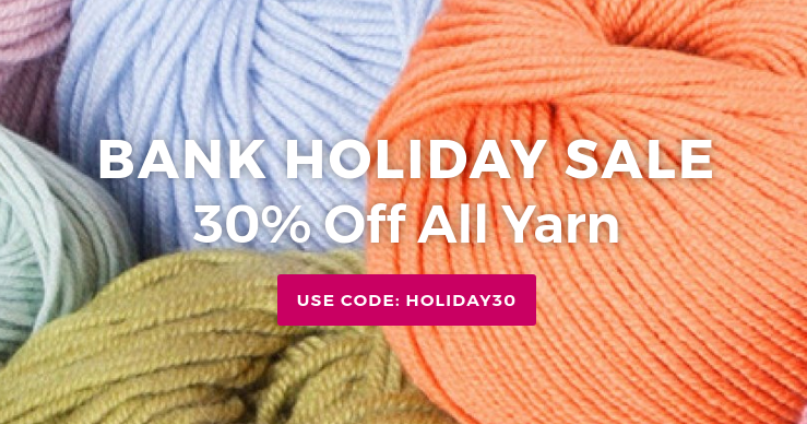 Deramores: 30% off all yarn