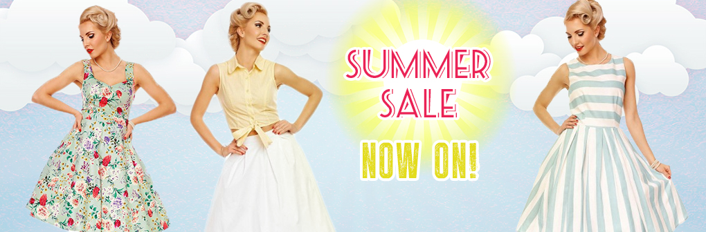 Dolly and Dotty Dolly and Dotty: Summer Sale up to 70% off ladies dresses