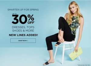 Dorothy Perkins: sale up to 30% off