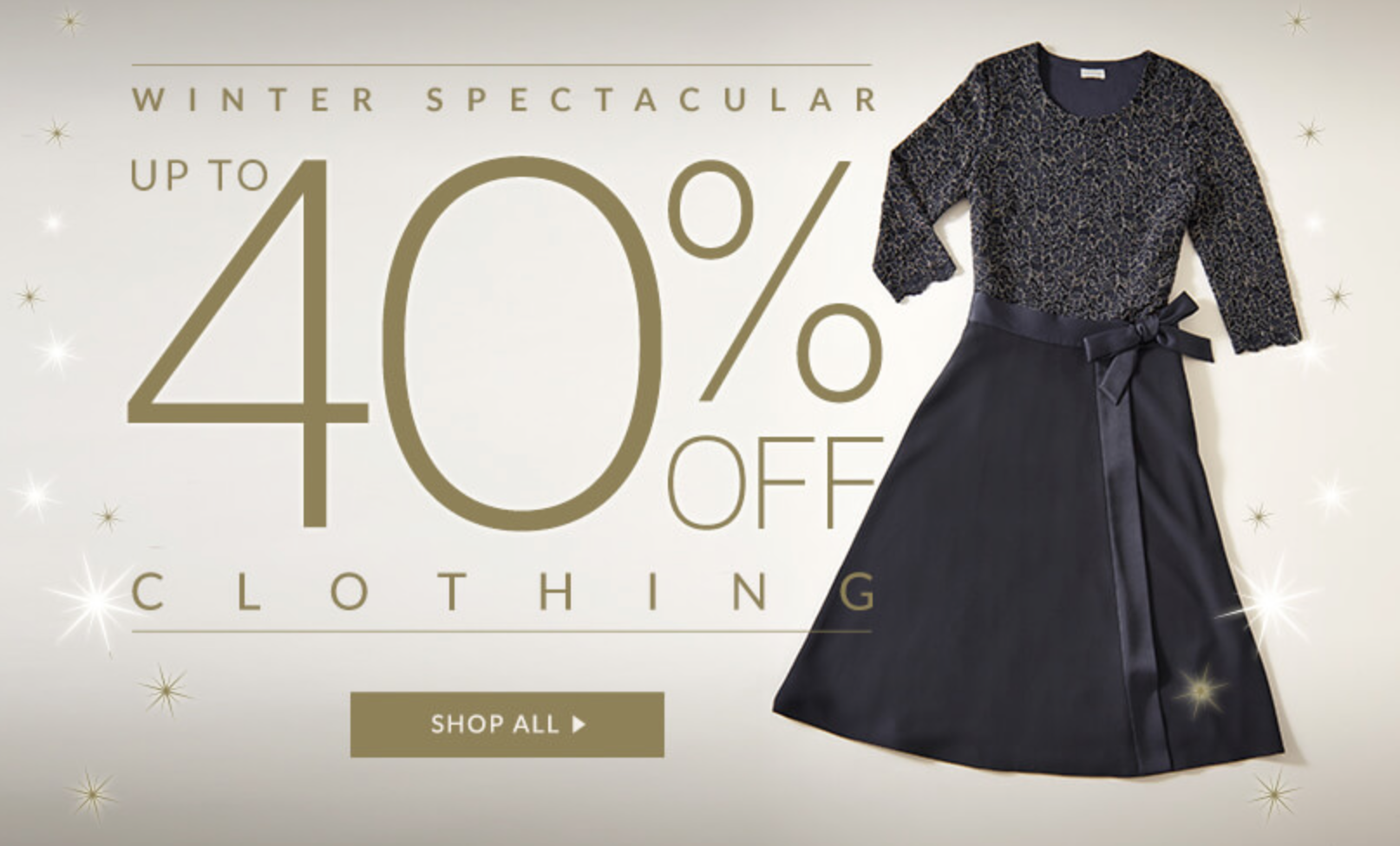 Eastex: up to 40% off clothing