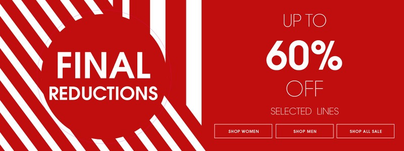 Ecco Shoes: Final Reductions up to 60% off women's and men's shoes