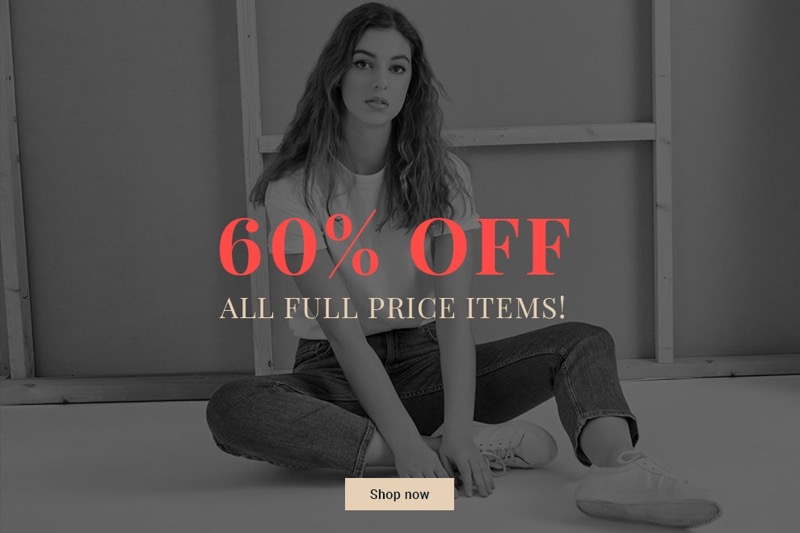 Elvi: 60% off ladies clothing