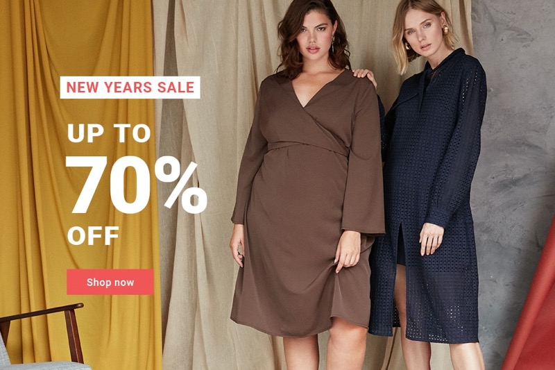 Elvi Elvi: Sale up to 70% off ladies clothing