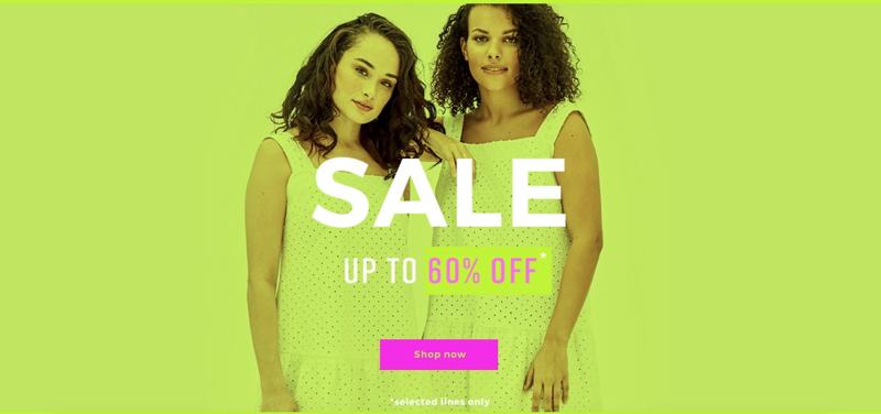 Elvi Elvi: Sale up to 60% off womens fashion