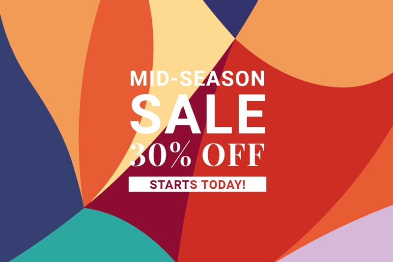 Elvi: Mid-Season Sale 30% off womens fashion