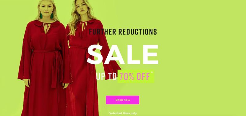 Elvi Elvi: Sale up to 70% off womens fashion