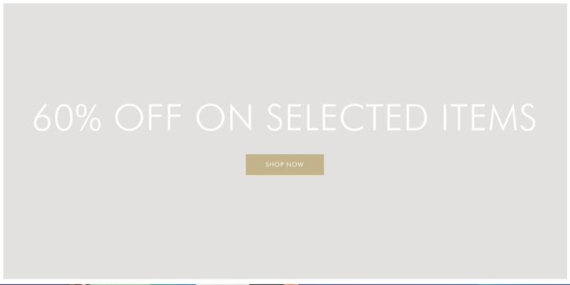 Escada: Sale 60% off women's fashion