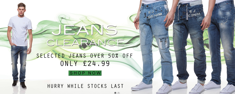 ETO Jeans: up to 80% off jeans, shirts and knitwear