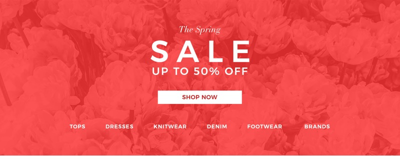 Evans Clothing Evans Clothing: Spring Sale up to 50% off ladies fashion