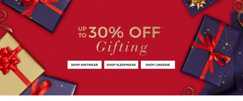 Evans Clothing Evans Clothing: up to 30% off gifting
