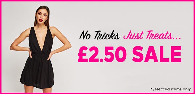 Everything 5 Pounds: Sale £2,5 off selected items