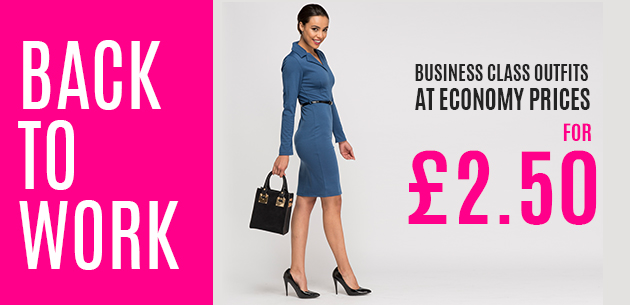 Everything 5 Pounds: business class outfits for £2.50