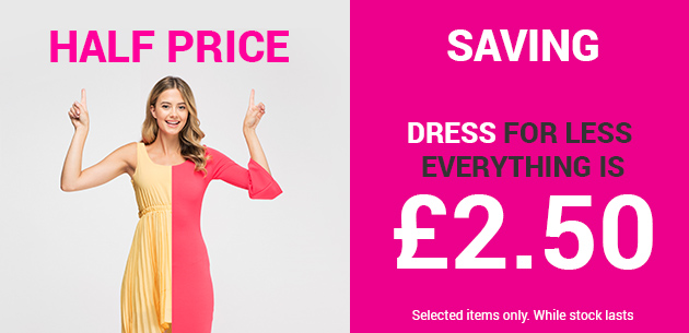 Everything 5 Pounds Everything 5 Pounds: dresses for £2.50