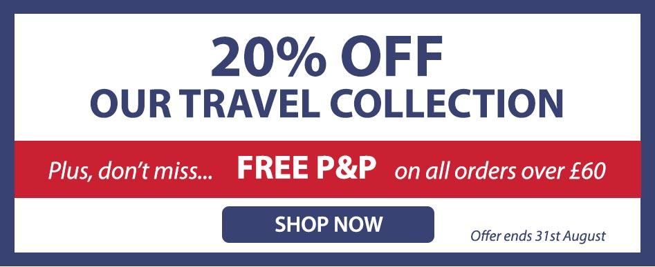 Expert Verdict: 20% off travel collection