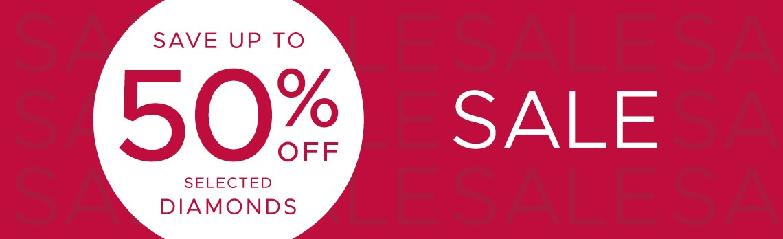 F.Hinds Jewellers F.Hinds Jewellers: Sale up to 50% off selected diamonds