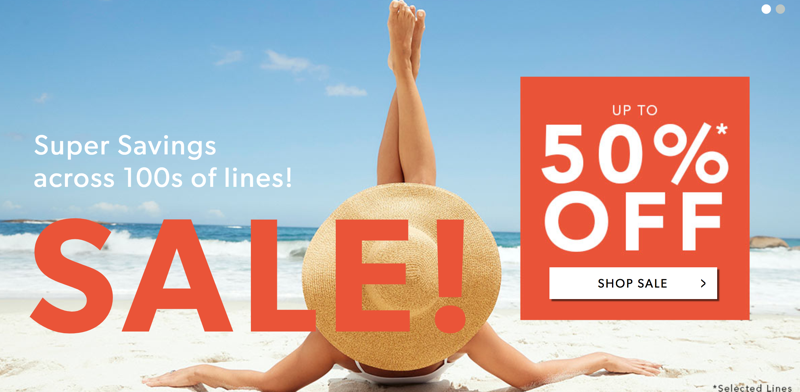 Fifty Plus Fifty Plus: Sale up to 50% off women's, men's clothing and accessories