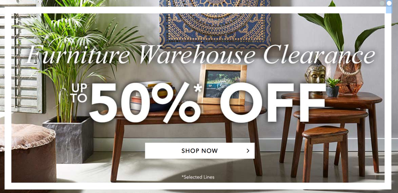 Fifty Plus Fifty Plus: Sale up to 50% off Furniture Warehouse Clearance